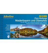 Radführer Bikeline-Radtourenbuch Fluss-Radwege Niederbayern und Oberpfalz 1:75.000 Verlag Esterbauer GmbH