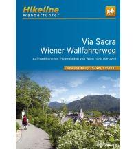 Weitwandern Hikeline-Wanderführer Fernwanderweg Via Sacra 1:35.000 Verlag Esterbauer GmbH