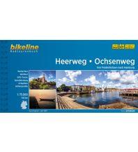 Radführer Bikeline-Radtourenbuch Heerweg, Ochsenweg 1:75.000 Verlag Esterbauer GmbH