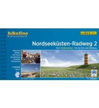Radführer Bikeline-Radtourenbuch Nordseeküsten-Radweg 2, 1:50.000 Verlag Esterbauer GmbH