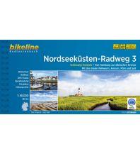 Radführer Bikeline-Radtourenbuch Nordseeküsten-Radweg Teil 3, 1:75.000 Verlag Esterbauer GmbH