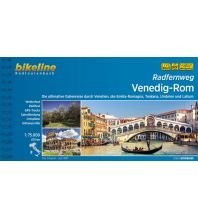 Radführer Bikeline-Radtourenbuch Radfernweg Venedig-Rom 1:75.000 Verlag Esterbauer GmbH