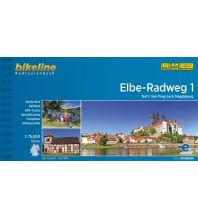 Radführer Bikeline-Radtourenbuch Elbe-Radweg, Teil 1, 1:75.000 Verlag Esterbauer GmbH
