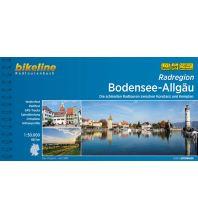 Radführer Bikeline-Radtourenbuch Radregion Bodensee-Allgäu 1:50.000 Verlag Esterbauer GmbH