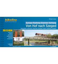 Radführer Europa-Radweg Eiserner Vorhang - von Hof nach Szeged 1:85.000 Verlag Esterbauer GmbH