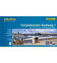 Radführer Bikeline-Radtourenbuch Ostseeküsten-Radweg, Band 1, 1:50.000 Verlag Esterbauer GmbH