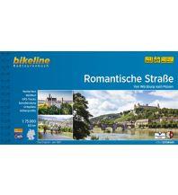Radführer Bikeline-Radtourenbuch Romantische Straße 1:75.000 Verlag Esterbauer GmbH