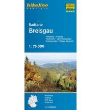 Radkarten Bikeline-Radkarte RK-BW09, Breisgau 1:75.000 Verlag Esterbauer GmbH