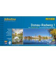 Radführer Bikeline-Radtourenbuch Donauradweg, Band 1, 1:50.000 Verlag Esterbauer GmbH