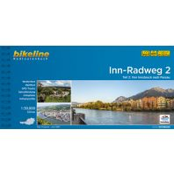 Radführer Bikeline-Radtourenbuch Inn-Radweg 1:50.000 Verlag Esterbauer GmbH