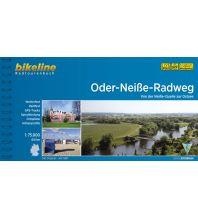 Radführer Bikeline-Radtourenbuch Oder-Neiße-Radweg 1:75.000 Verlag Esterbauer GmbH