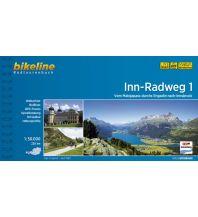 Radführer Bikeline-Radtourenbuch Inn-Radweg, Band 1, 1:50.000 Verlag Esterbauer GmbH