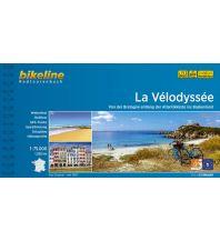 Radführer Bikeline-Radtourenbuch La Vélodyssée 1:75.000 Verlag Esterbauer GmbH
