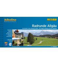 Radführer Bikeline-Radtourenbuch Radrunde Allgäu 1:50.000 Verlag Esterbauer GmbH