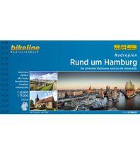 Radführer Bikeline-Radtourenbuch Radregion Rund um Hamburg 1:75.000 Verlag Esterbauer GmbH