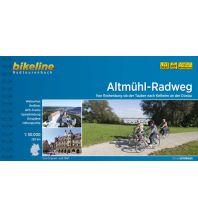 Radführer Bikeline-Radtourenbuch Altmühl-Radweg 1:50.000 Verlag Esterbauer GmbH