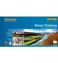 Radführer Bikeline-Radtourenbuch Weser-Radweg 1:50.000 Verlag Esterbauer GmbH