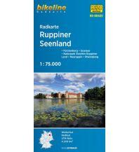 Radkarten Bikeline-Radkarte RK-BRA05, Ruppiner Seenland 1:75.000 Verlag Esterbauer GmbH