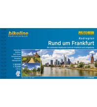 Radführer Bikeline-Radtourenbuch Rund um Frankfurt 1:75.000/1:50.000 Verlag Esterbauer GmbH