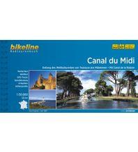 Radführer Bikeline-Radtourenbuch Canal du Midi 1:50.000 Verlag Esterbauer GmbH
