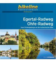 Bikeline Radtourenbuch kompakt Egertal-Radweg, Ohře-Radweg 1:50.000 Verlag Esterbauer GmbH