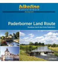 Radführer Bikeline-Radtourenbuch kompakt Paderborner Land Route 1:50.000 Verlag Esterbauer GmbH