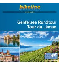 Bikeline-Radtourenbuch kompakt Genfersee Rundtour/Tour du Léman 1:50.000 Verlag Esterbauer GmbH