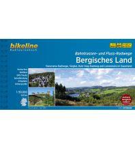 Radführer Bikeline-Radtourenbuch Flüsse und Bahntrassen Bergisches Land 1:50.000 Verlag Esterbauer GmbH