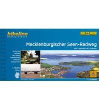 Bikeline Radtourenbuch Mecklenburgischer Seen-Radweg 1:75.000 Verlag Esterbauer GmbH