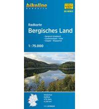 Radkarten Bikeline-Radkarte RK-NRW11, Bergisches Land 1:75.000 Verlag Esterbauer GmbH