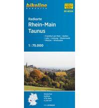 Radkarten Bikeline-Radkarte RK-HES04, Rhein-Main-Taunus 1:75.000 Verlag Esterbauer GmbH
