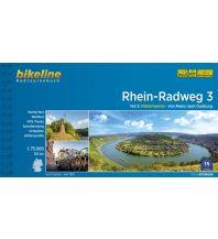 Bikeline-Radtourenbuch Rhein-Radweg, Teil 3, 1:75.000 Verlag Esterbauer GmbH