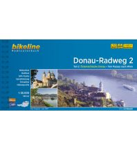 Bikeline Radtourenbuch Donau-Radweg Teil 2, 1:50.000 Verlag Esterbauer GmbH