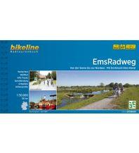 Bikeline Radtourenbuch EmsRadweg 1:50.000 Verlag Esterbauer GmbH
