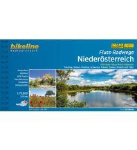 Bikeline Radtourenbuch Fluss-Radwege Niederösterreich 1:75.000 Verlag Esterbauer GmbH