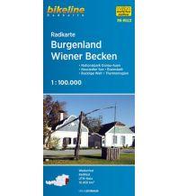 Bikeline Radkarte RK-BGLD, Burgenland, Wiener Becken 1:100.000 Verlag Esterbauer GmbH