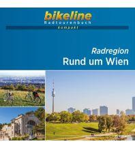Bikeline Radtourenbuch kompakt Radregion Rund um Wien 1:60.000 Verlag Esterbauer GmbH