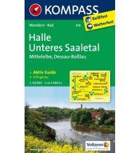 Wanderkarten Deutschland Halle - Unteres Saaletal - Mittelelbe - Dessau - Roßlau Kompass-Karten GmbH