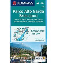 Wanderkarten Italien Kompass-Karte 694, Parco Alto Garda Bresciano 1:25.000 Kompass-Karten GmbH