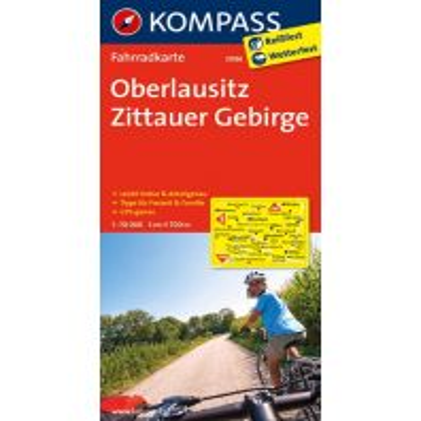 Radkarten Oberlausitz - Zittauer Gebirge Kompass-Karten GmbH