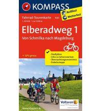 Radkarten Elberadweg 1, Von Schmilka nach Magdeburg Kompass-Karten GmbH