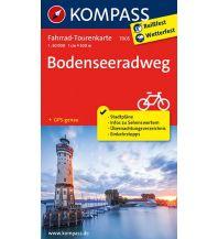 Radkarten Kompass-Fahrrad-Tourenkarte 7005, Bodenseeradweg 1:50.000 Kompass-Karten GmbH