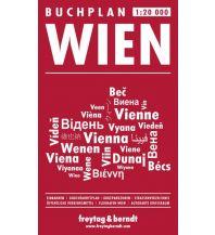 f&b Stadtpläne Buchplan Wien 1:20.000 Freytag-Berndt und ARTARIA