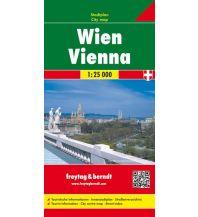 f&b Stadtpläne Wien, Stadtplan 1:25.000 Freytag-Berndt und ARTARIA