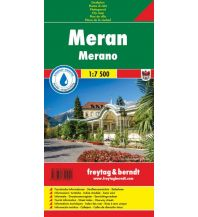 f&b Stadtpläne Stadtplan Meran/Merano 1:7.500 Freytag-Berndt und ARTARIA