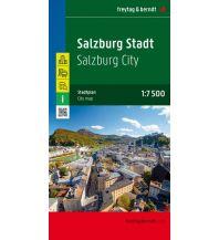 f&b Stadtpläne Salzburg Stadt, Stadtplan 1:7.500 - 1:15.000 Freytag-Berndt und ARTARIA