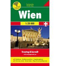 f&b Stadtpläne Wien, Taschenatlas 1:20.000 Freytag-Berndt und ARTARIA