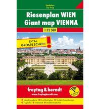 f&b Stadtpläne Wien Riesenplan, Buchplan 1:12.500 Freytag-Berndt und ARTARIA