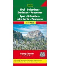 f&b Straßenkarten freytag & berndt Autokarte Tirol - Dolomiten - Gardasee - Panorama 1:450.000 Freytag-Berndt und ARTARIA