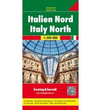 f&b Straßenkarten freytag & berndt Auto + Freizeitkarte Italien Nord 1:500.000 Freytag-Berndt und ARTARIA